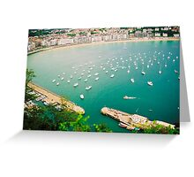 Concha Bay Greeting Card