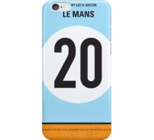 No038 My Le Mans minimal movie poster iPhone Case/Skin