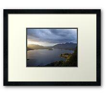 Surprise View - Derwentwater Framed Print