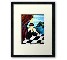 ART DECO  BAR SCENE Framed Print