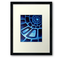 Path to endless sky Framed Print