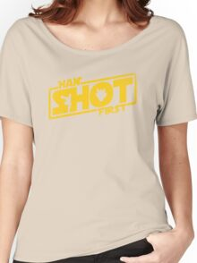 Han Shot First Women's Relaxed Fit T-Shirt