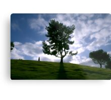 Rainy day clouds in Southern California Metal Print