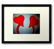 From Heart to Heart Framed Print