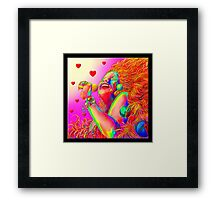 'Sing It Babie' A Tribute to 1960's California Rock Framed Print