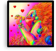 'Sing It Babie' A Tribute to 1960's California Rock Canvas Print