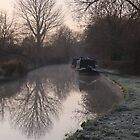 morning on the canal  by Paul Whitehead