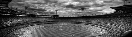 Melbourne Cricket Ground - AFL Grand Final 2010 by MichaelMarner