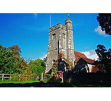 St Martins Church, Ryarsh Photographic Print