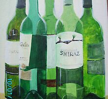 5 Green bottles ... by RuthHunt