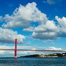 Red bridge by João Almeida