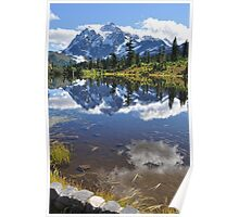 Mt. Shuksan Reflections in Picture Lake Poster