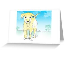 Puppy Power Greeting Card