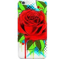 Water Color Rose iPhone Case/Skin