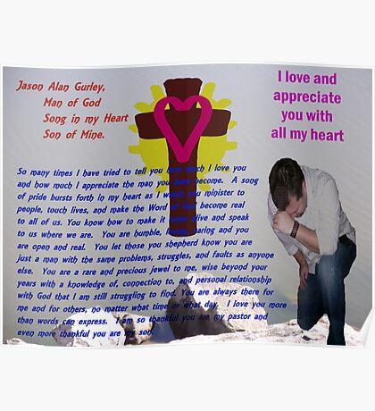 Jason: Man of God, Son of Mine Poster