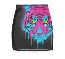 CMYK tiger Mini Skirt