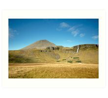 Icelandic countryside Art Print