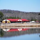 Red Roof Stables at 5W (Eagle Cove, Ohatchee, AL) by Charldia
