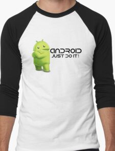 Android - Just do it! Men's Baseball ¾ T-Shirt