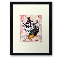 Skully Bot Framed Print