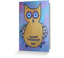 Shiloh Moore's 'Owl' Greeting Card