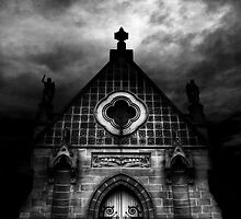 St Michael, The Archangel Chapel - Rookwood Necropolis by Luke Peterson Photography