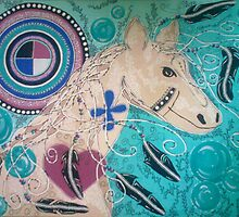 Horse Totem by Kyobe