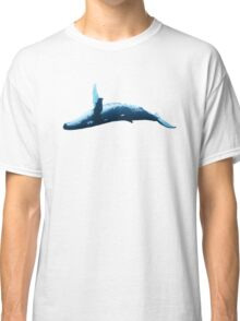 Humpback Whale Painting Classic T-Shirt