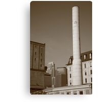 Minneapolis Smokestack Canvas Print