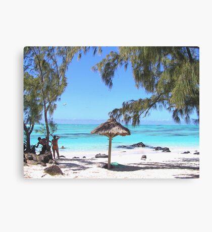 Ile Aux Cerfs (2) -  The Mauritius Collection Canvas Print