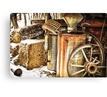 Rusty Relics Canvas Print