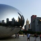 """Chicago, my - bubble- kind of town"" by CranBerryOcean"