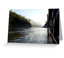 Mekong River, Laos Greeting Card