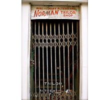 Tailor Shop - Birmingham, AL Photographic Print
