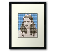 Over the Rainbow Blue Framed Print
