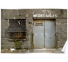 Model Sales - Birmingham, AL Poster