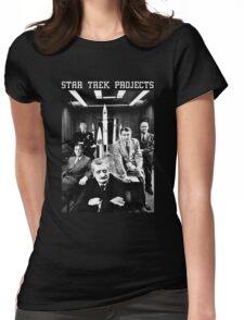 Star Trek Projects - Fan Art Sci-Fi Womens Fitted T-Shirt