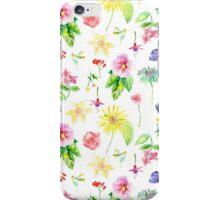 English Flowers iPhone Case/Skin