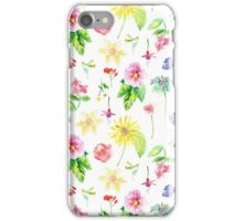 English Flowers iPhone Case/Skin