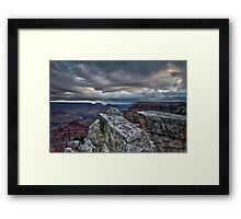 Looking for the Sunrise, Grand Canyon Framed Print