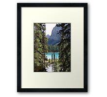 Once again, Maligne Framed Print