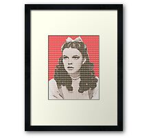 Over the Rainbow Red Framed Print