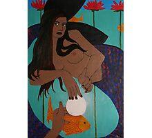 Mermaid Sophia - Offering a Pearl of Wisdom Photographic Print