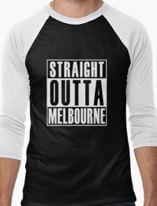 Straight Outta Melbourne Men's Baseball ¾ T-Shirt