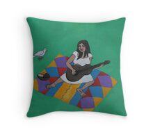 El Picnic Del Cantante  Throw Pillow