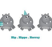 Hip Hippo Horray! by OohLaLiza