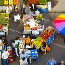 """Colorful Market"" - farmers' market by ArtThatSmiles"