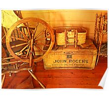 Pioneer Parlour - Many A Yarn Spun Here Poster