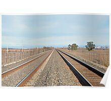 'tween the tracks Poster