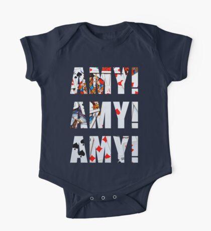 Amy Amy Amy! One Piece - Short Sleeve